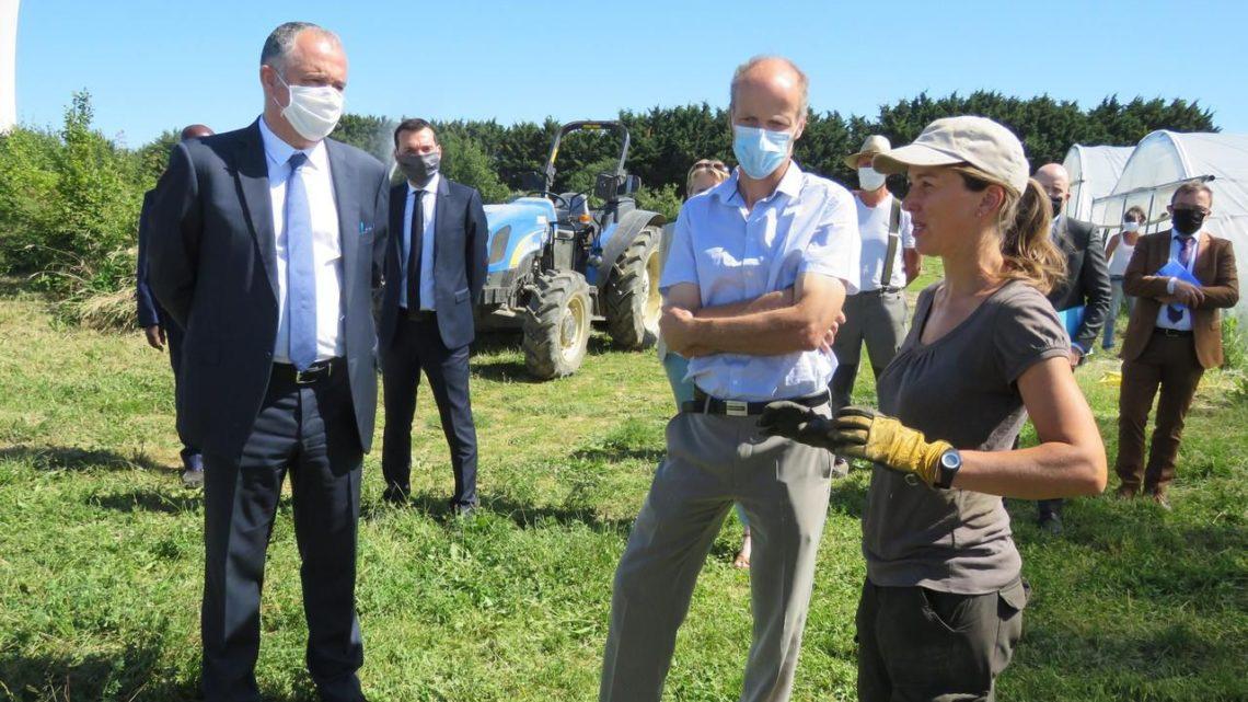 Seine-et-Marne : le ministre découvre la « pépite » de l'enseignement agricole