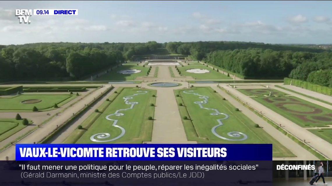 Le parc et les jardins du château de Vaux-le-Vicomte rouvrent au public sur réservation