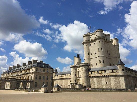 Château de Vincenne en vu panoramique
