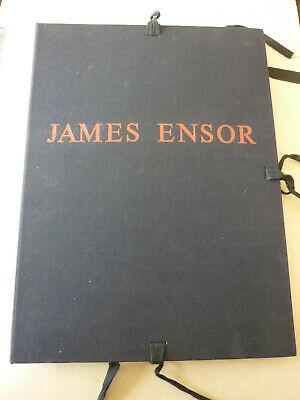 De ROCQUIGNY/J. ENSOR-Ensor démasqué- Séguier 1987-1/30 signé – seul tirage-TBE