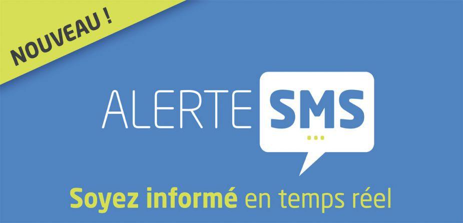 Inscriptions aux alertes par SMS