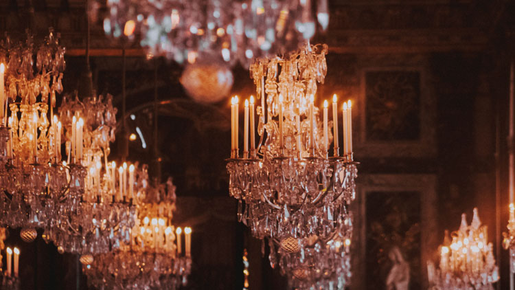 Combien de bougies éclairent Vaux-le-Vicomte ?