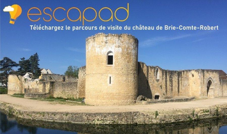 Découvrez l'application de visite du château de Brie-Comte-Robert