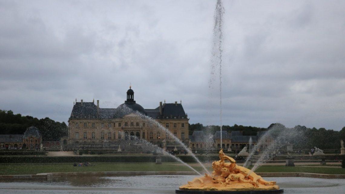 Vaux-le-Vicomte. Les grandes eaux, le petit plus du château
