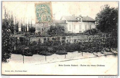 77 BRIE COMTE ROBERT – ruines du vieux château