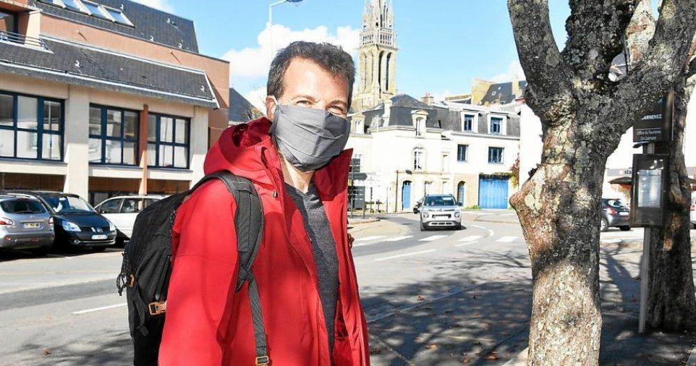 Son tour de France en stop et sans argent passe par Douarnenez