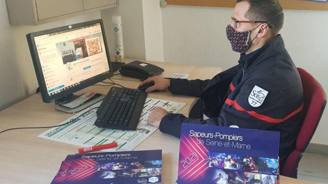 Privés de porte à porte, les pompiers de Chelles font leur campagne de calendriers… en ligne