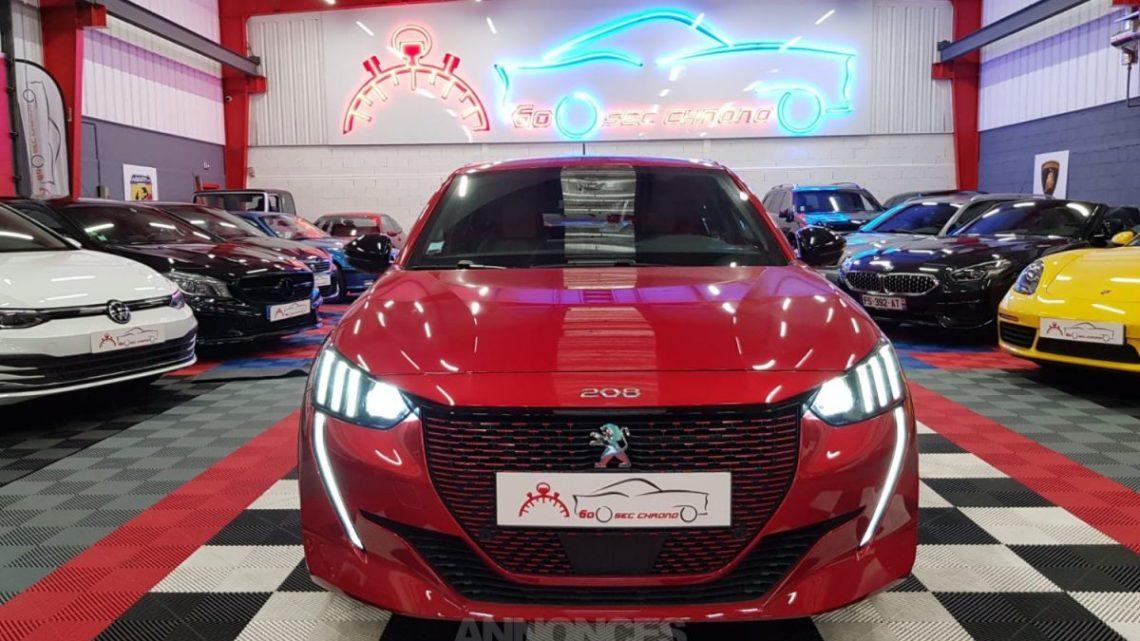 En vente : Peugeot 208 GT 136cv, 02/2020, 1.000km au prix de 31.990€ chez 60 SECONDES CHRONO