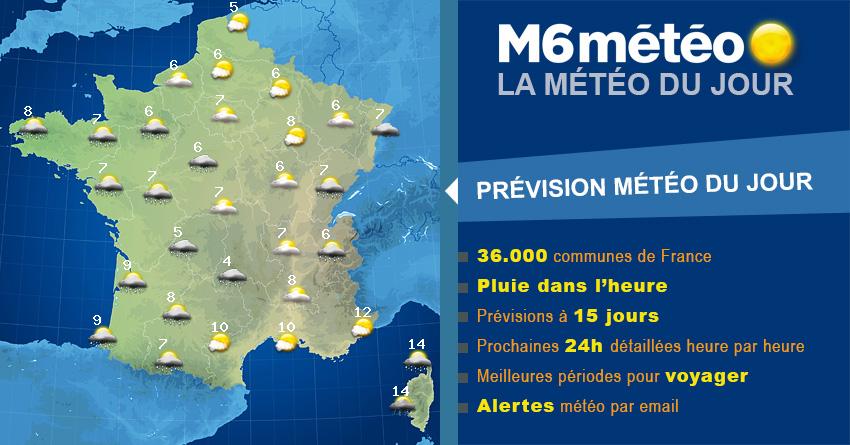 Météo Châtres 15 jours – Prévisions météo à 2 semaines par M6 météo